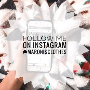 Let's be friends! Follow me on insta